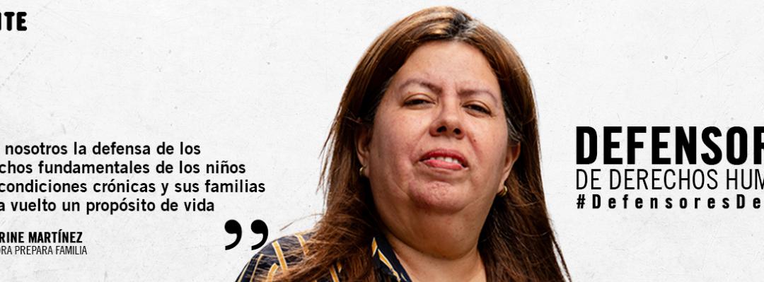 Katherine Martínez: Defender los derechos de los niños es mi misión de vida