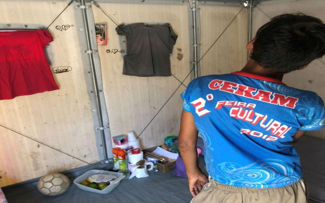 Brasil: Niños y niñas venezolanos huyen solos