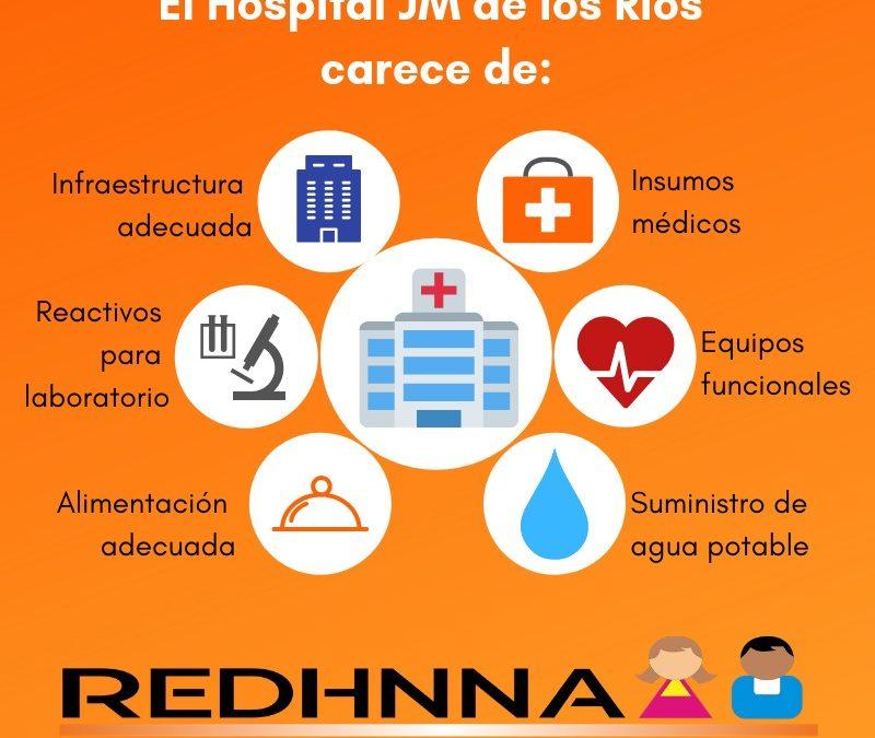 Katherine Martínez: El Hospital de Niños JM de Los Ríos no se ha paralizado por la heroicidad de quienes allí trabajan