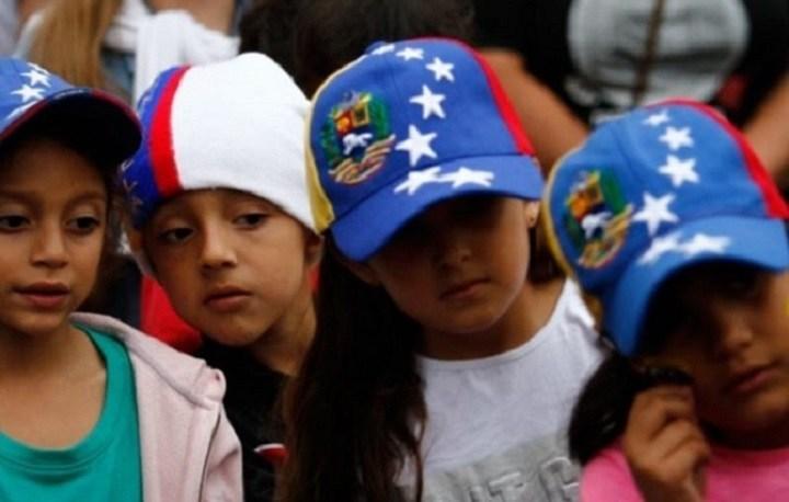 Los niños, niñas y adolescentes venezolanos en Colombia