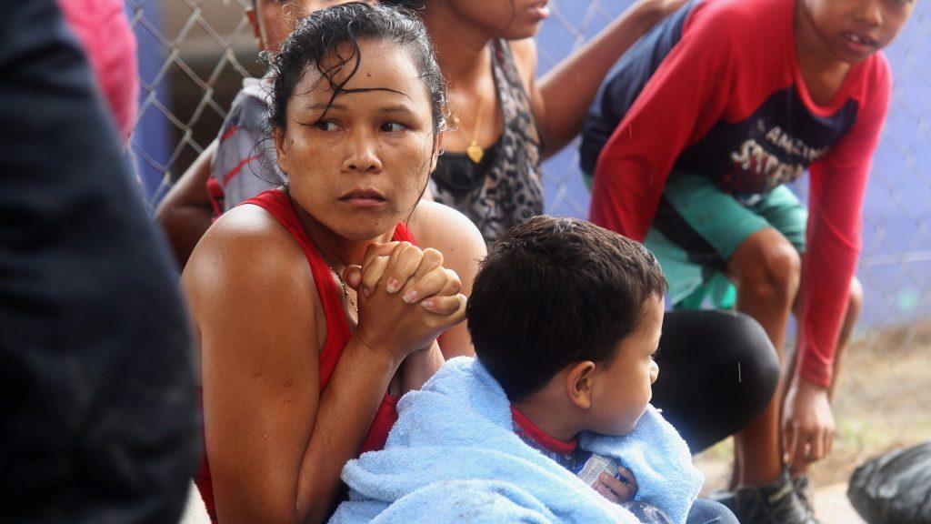 Nueve niños venezolanos permanecen detenidos en Trinidad y Tobago
