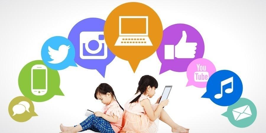 Los niños en las redes