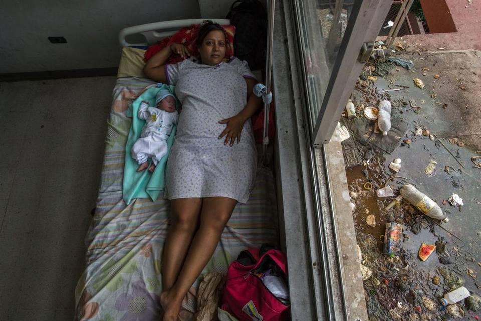 Personal del hospital de Acarigua-Araure cierra sala de parto por contaminación