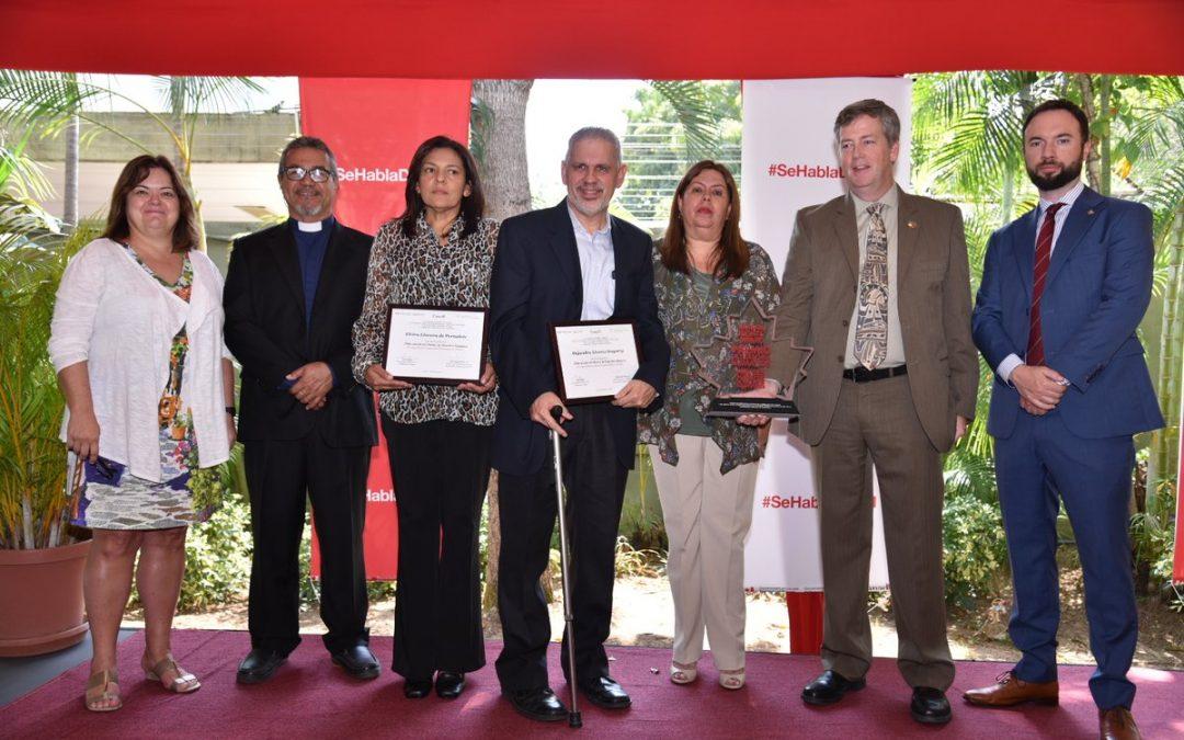 Katherine Martínez, Ganadora de la 10ma edición del Premio de Derechos Humanos de la Embajada de Canadá