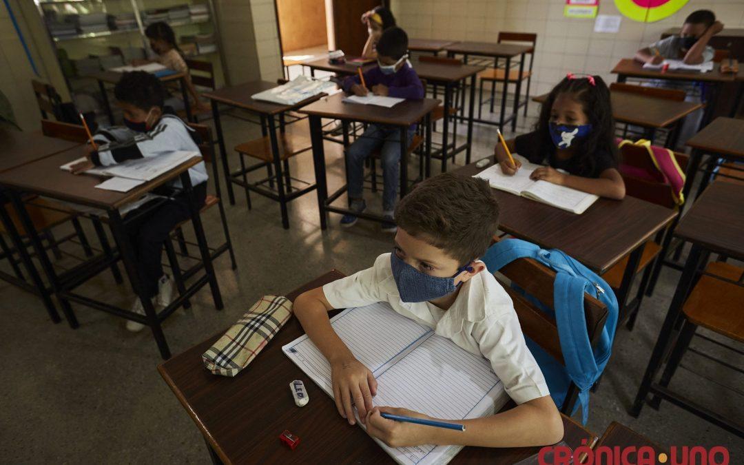 Los números rojos que dejó la COVID-19 en la educación venezolana