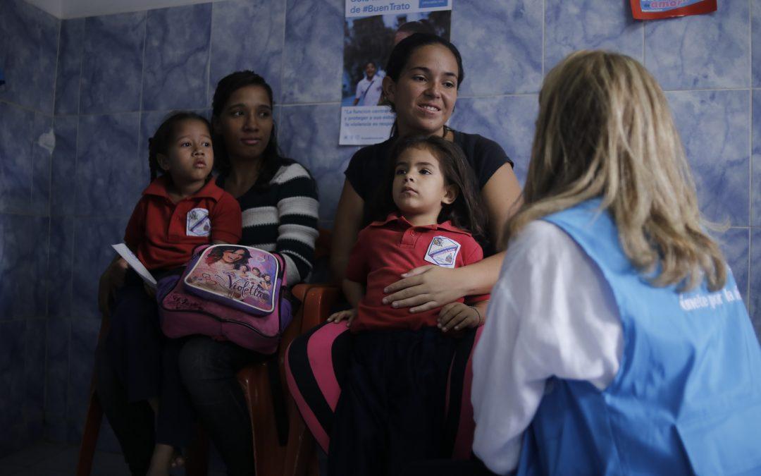 UNICEF aumenta su ayuda humanitaria a la infancia en Venezuela y ha entregado 55 toneladas de suministros de salud desde enero