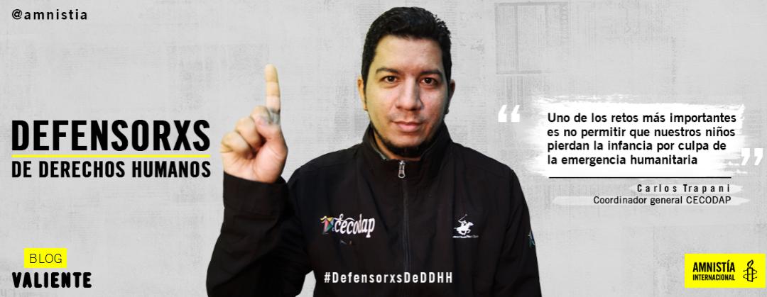 Carlos Trapani: El reto de defender los derechos de la niñez al frende Cecodap